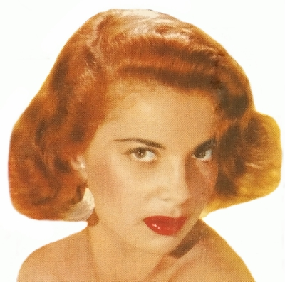 1950 Hairstyle Bouffant Red Hair