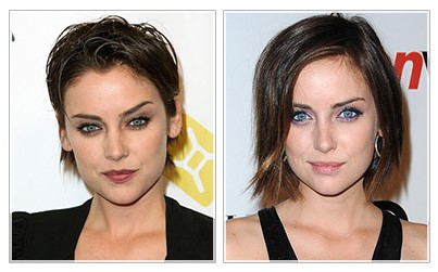 Jessica-Stroup Hairstyle Makeover