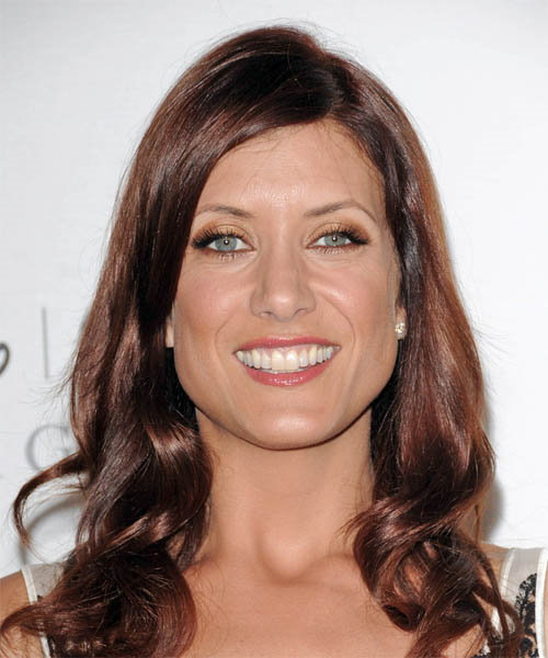 Kate Walsh Long Wavy Casual Hairstyle