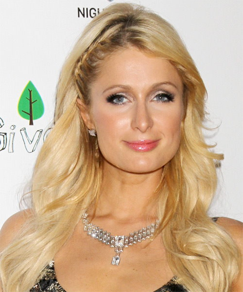 Paris Hilton Long Wavy Casual Hairstyle