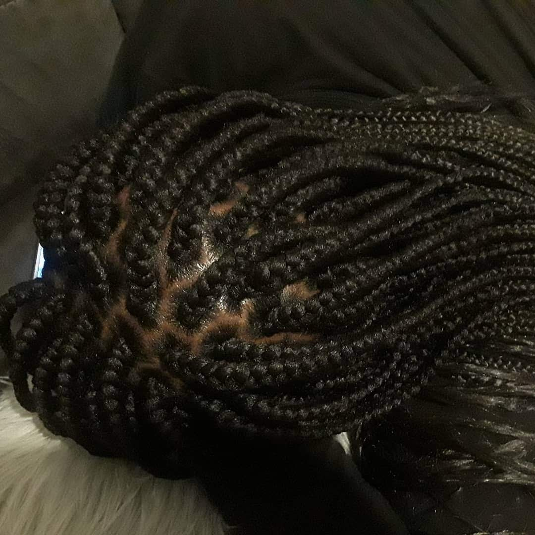Medium Size Box Braids
