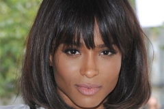 Ciara Medium Length Straight Bob with Bangs