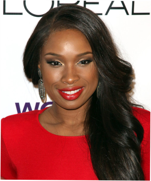 Jennifer Hudson long wavy hairstyle