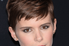 Kate Mara with a chic layered pixie hairstyle