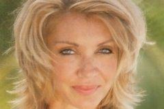 Medium length hairtyle on woman over 50