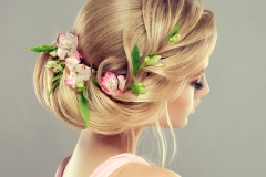 Beautiful Elegent Evening Hairstyle