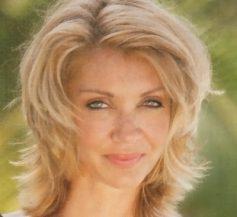 Shoulder length medium length hairstyles for older women